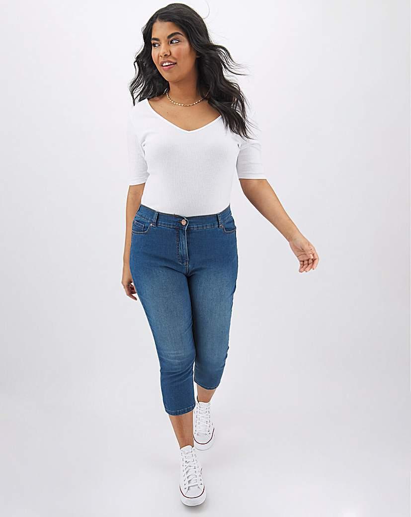 Capsule 24/7 Blue Crop Jeans