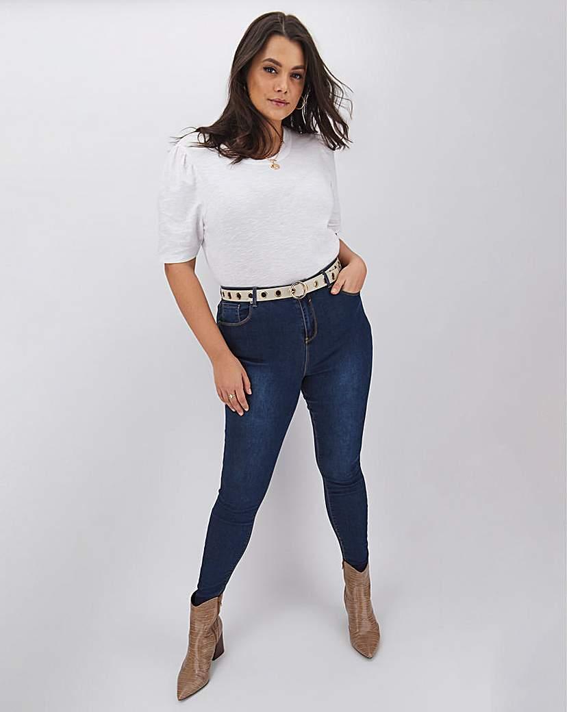 Simply Be Chloe High Waist Skinny Jeans Petite