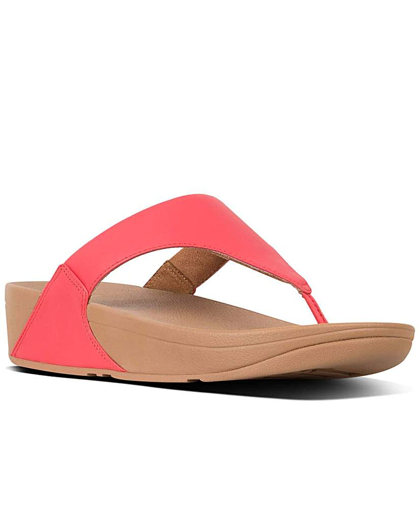 FitFlop Lulu Leather Womens Sandals