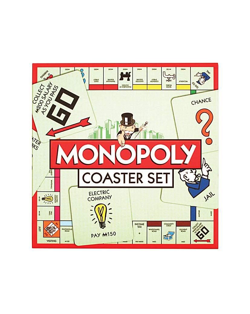 Monopoly Beer Mat Coasters