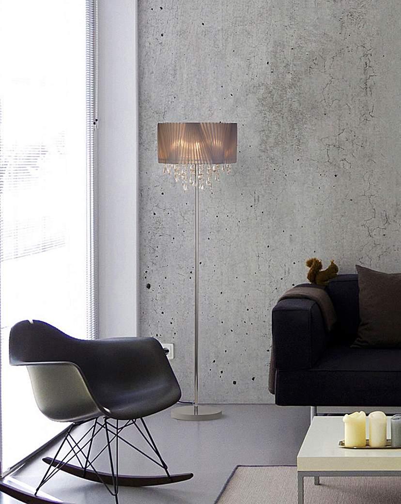 Venetian Shade Floor Lamp