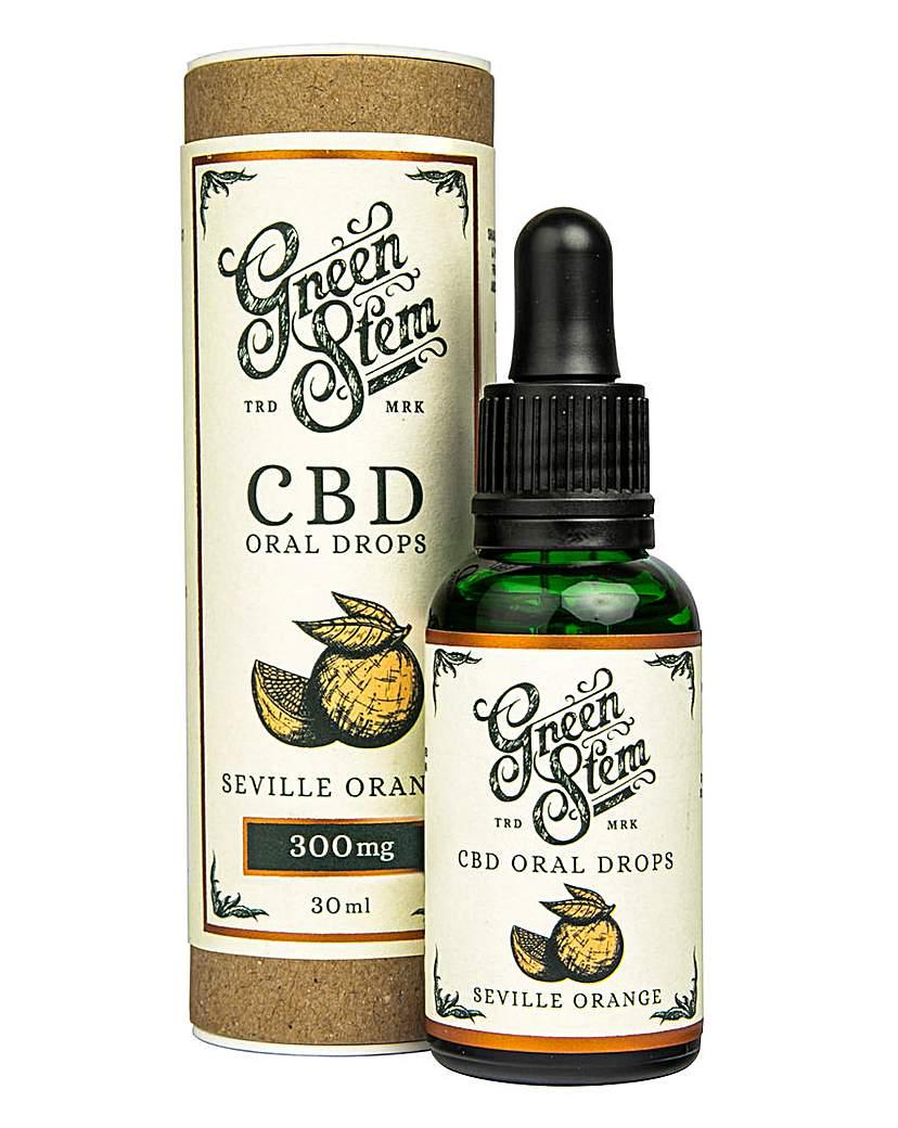Green Stem Green Stem 300mg CBD Oil Drops - Orange