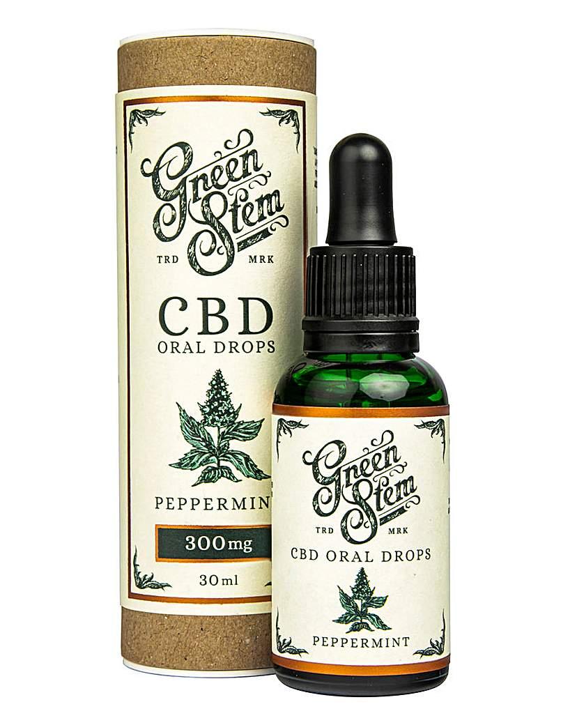 Green Stem Green Stem 300mg CBD Oil Drops - Mint
