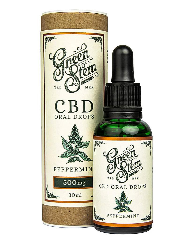 Green Stem Green Stem 500mg CBD Oil Drops - Mint