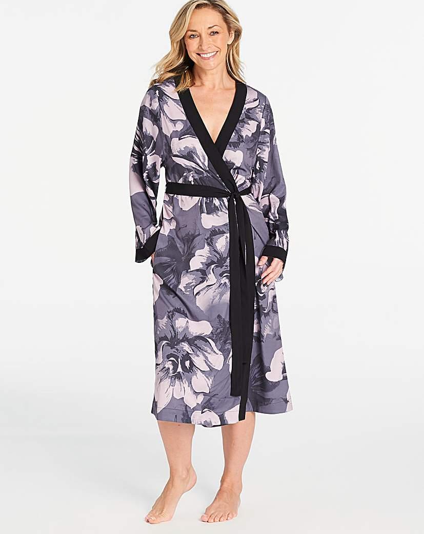 Pretty Secrets Floral Matte Satin Gown