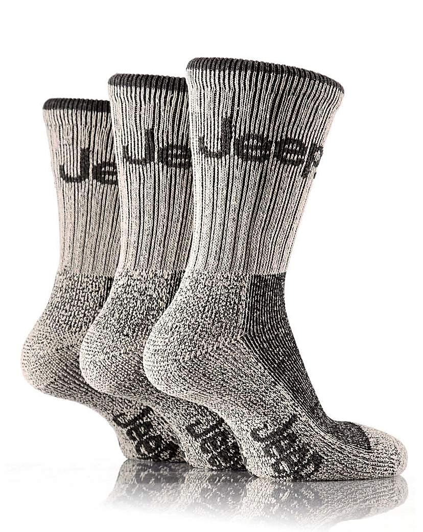 3 Pair Jeep Luxury Terrain Socks