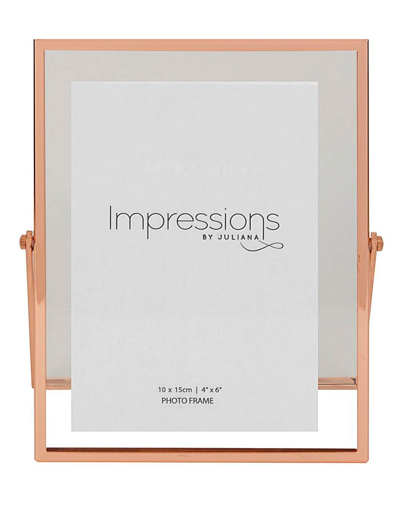 Image of Impressions Copper Finish Frame 4x6