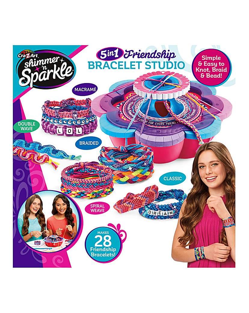 Shimmer n' Sparkle Friendship Bracelet