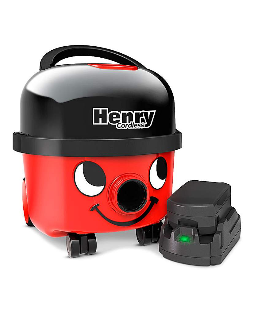 Henry Cordless Cylinder Vacuum Cleaner