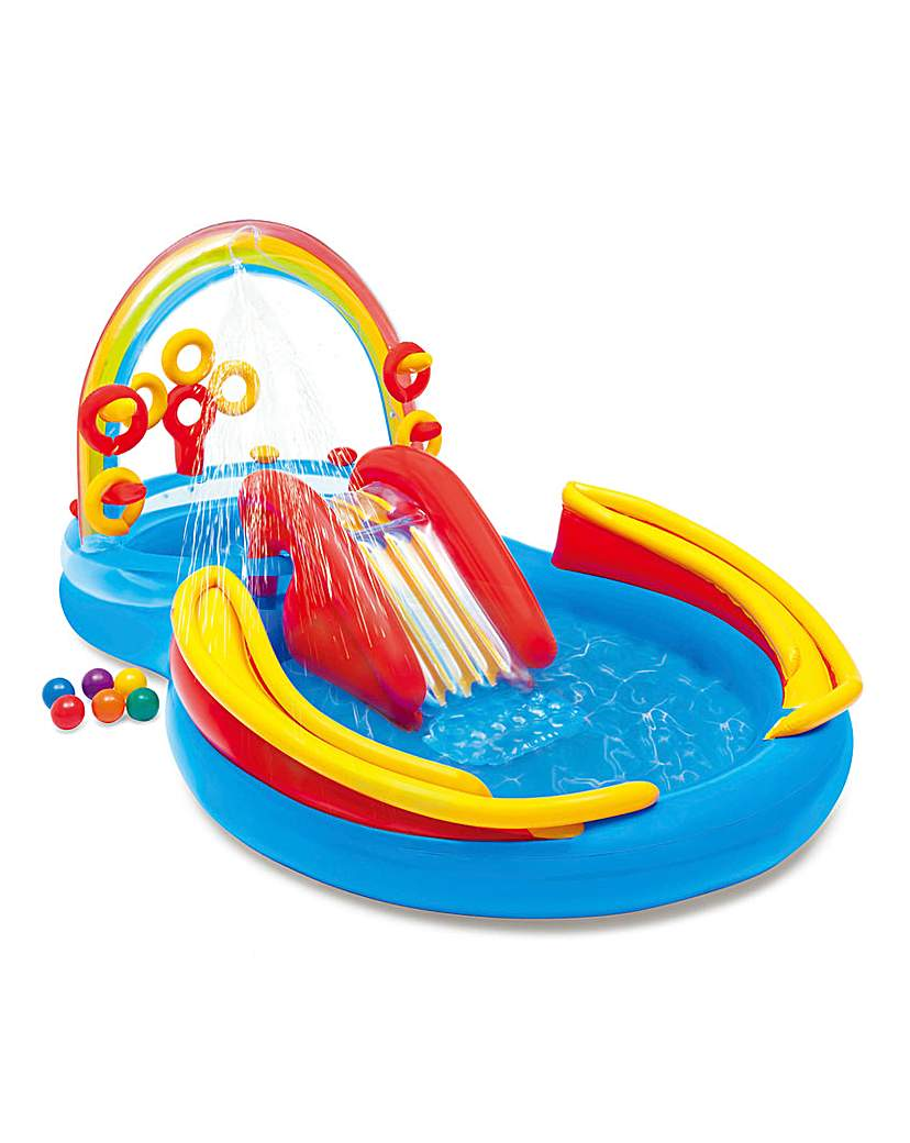 Intex Rainbow Ring Play Centre