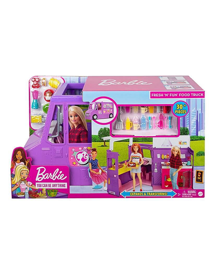 Barbie Fresh n Fun Food Truck Playset