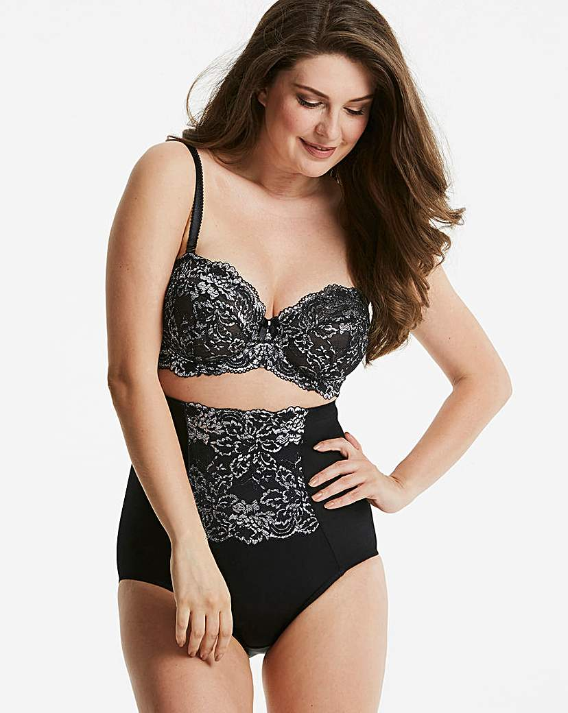 Ella Lace Black Sparkle Multiway Bra