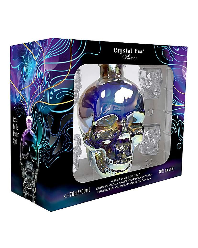 Crystal Head Arora Vodka Gift Set