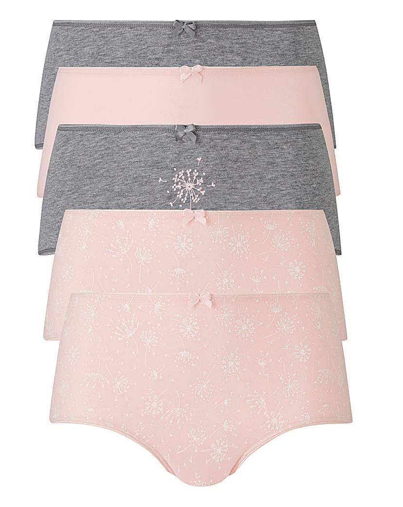 5 Pack Dandelion Boxer Shorts