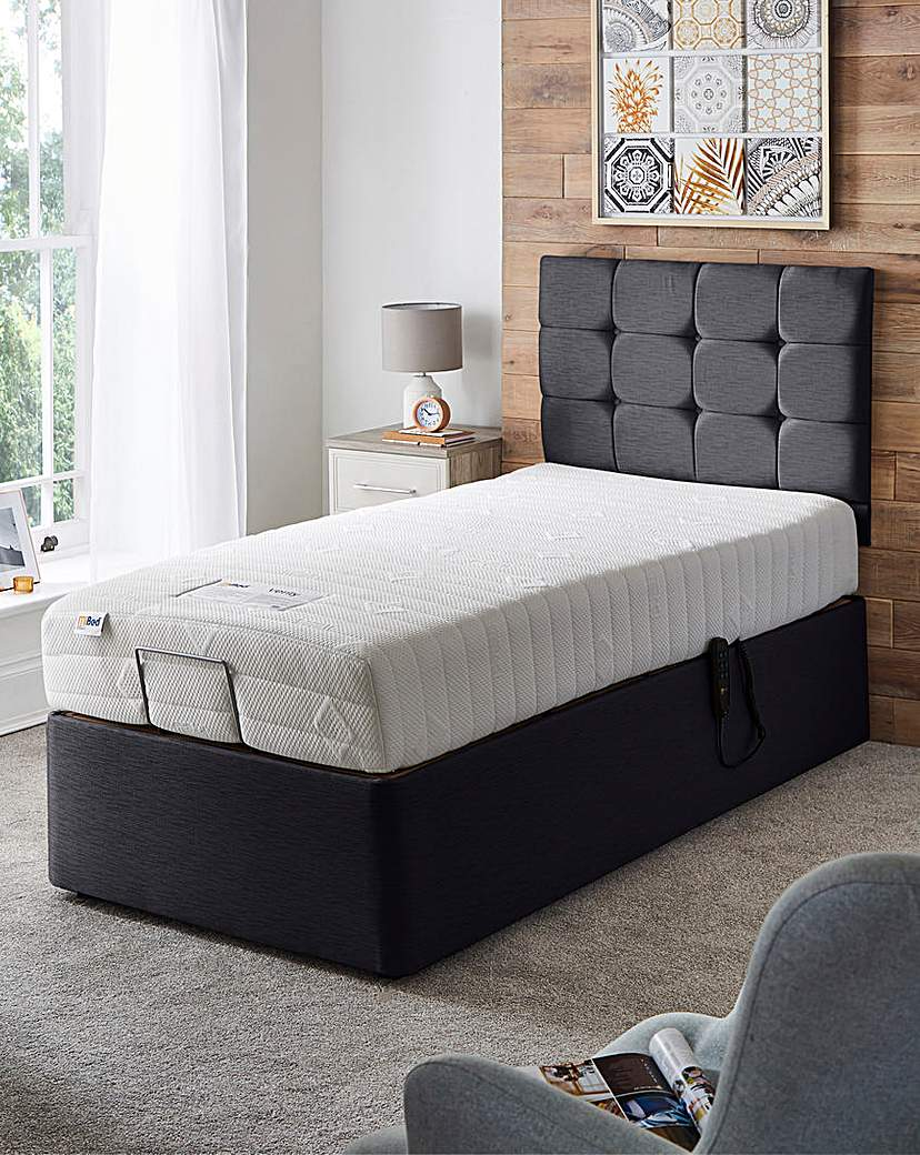 Image of MiBed Cassidy Memory 1000 Adjustable Bed