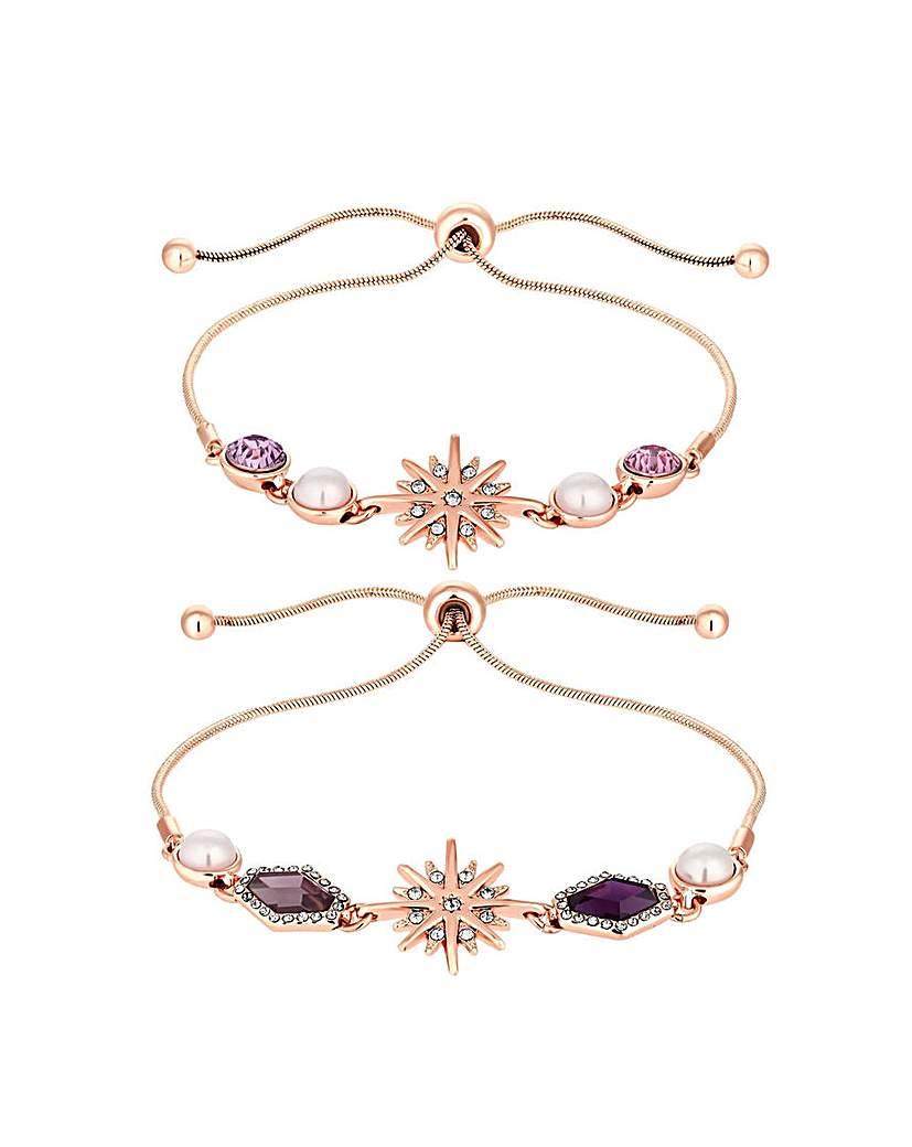 Mood Celestial Bracelets - Pack of 2