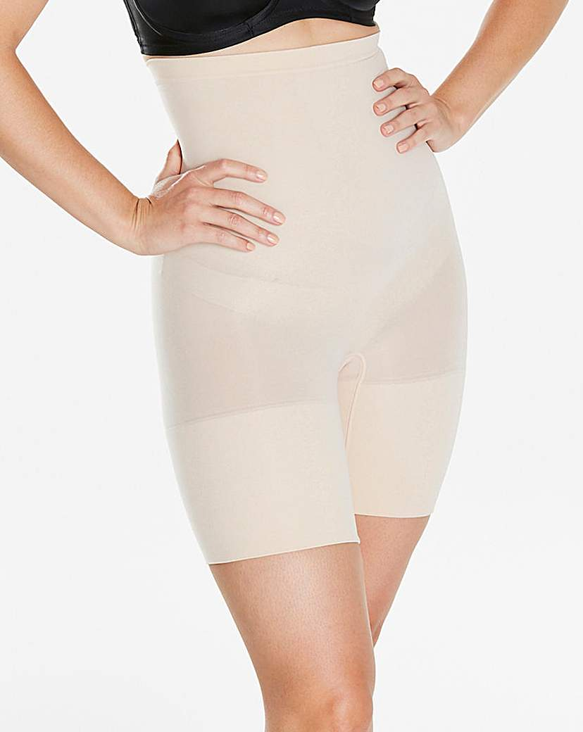 Spanx High Power Soft Nude Shorts