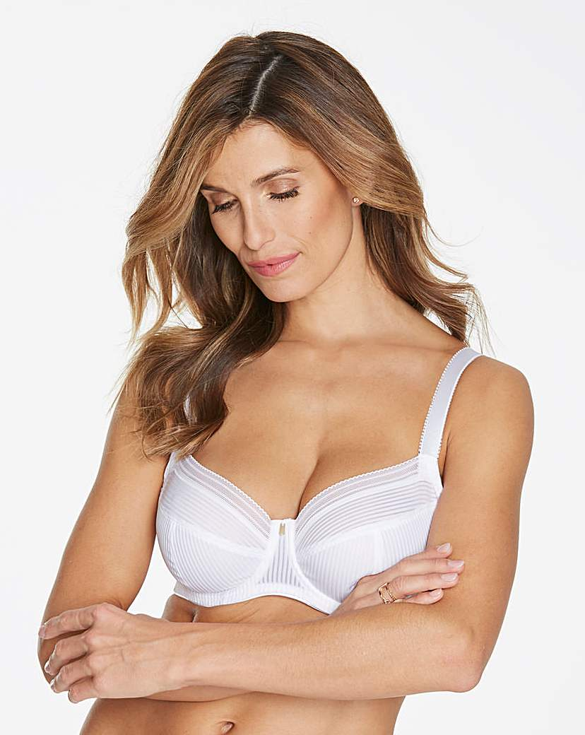 Image of Fantasie Fusion Full Cup Wired White Bra