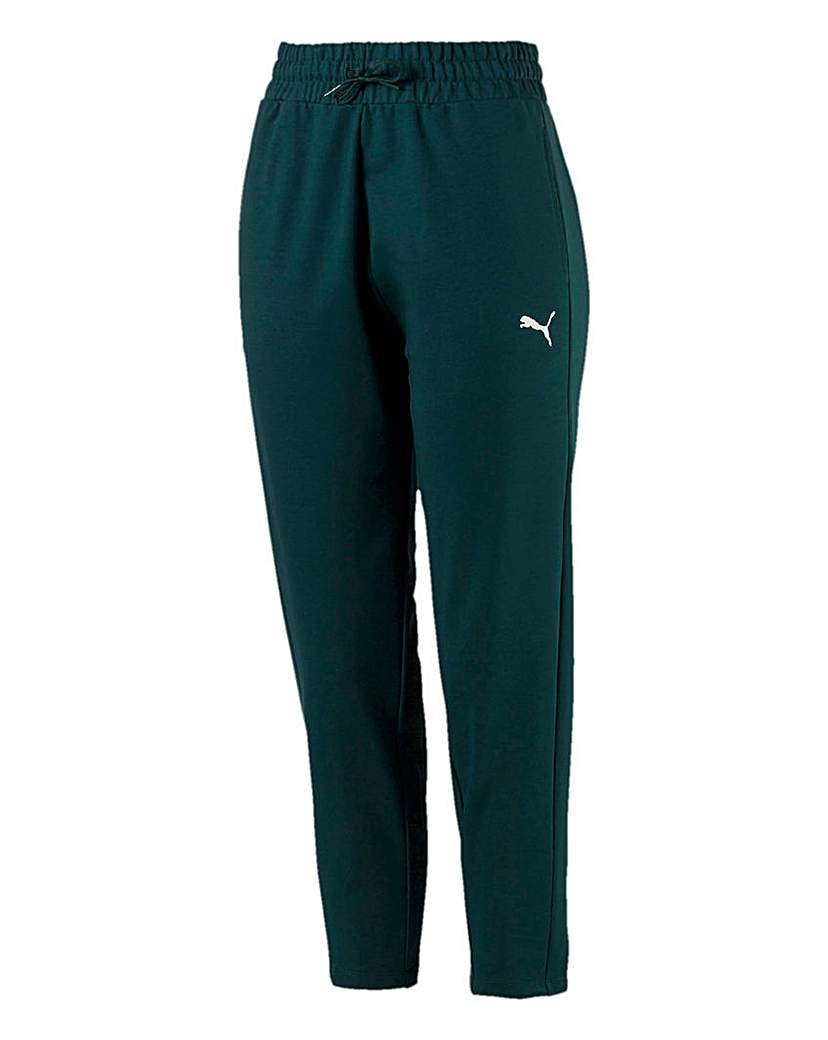 Puma Ladies Green Soft Sports Pants