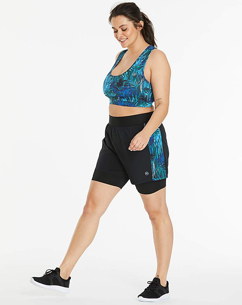Simply Be Performance Print Layer Short