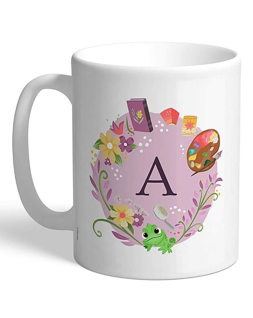 Image of Personalised Disney Princess Initial Mug
