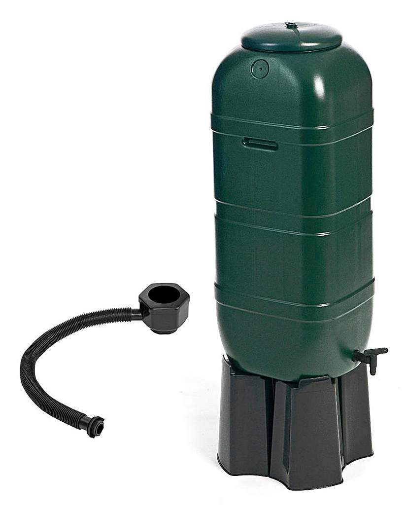 Image of 100L Slimline Garden Water Butt Set