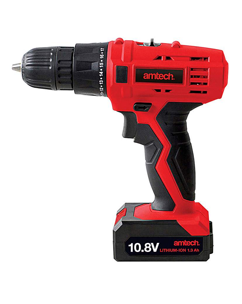 Image of AmTech 10.8V Cordless Drill Driver