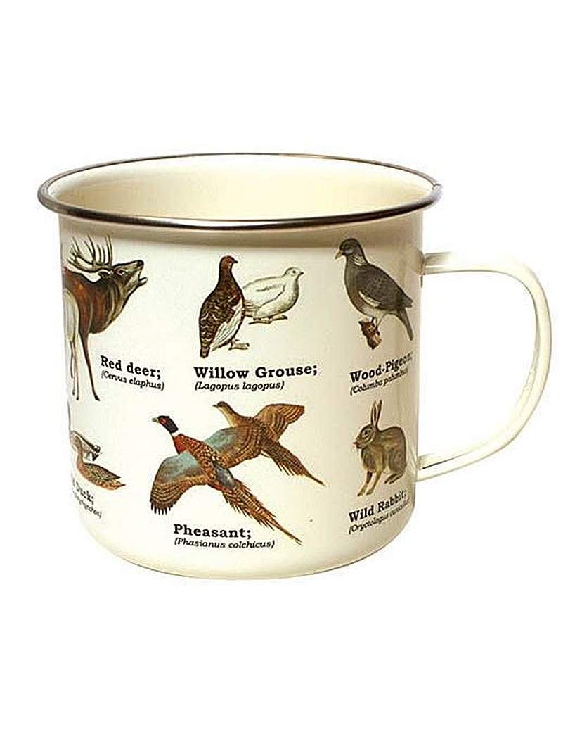 Image of Wild Animals Enamel Mug