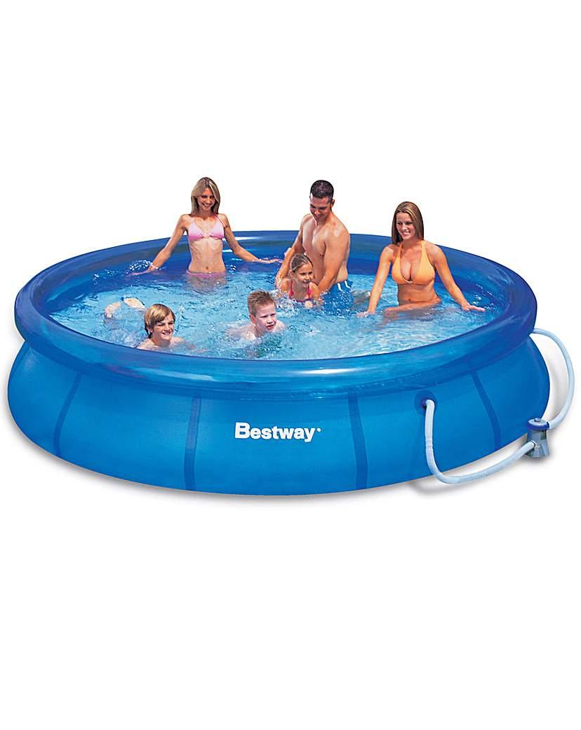 Image of Bestway 10 Foot Fast Set Pool