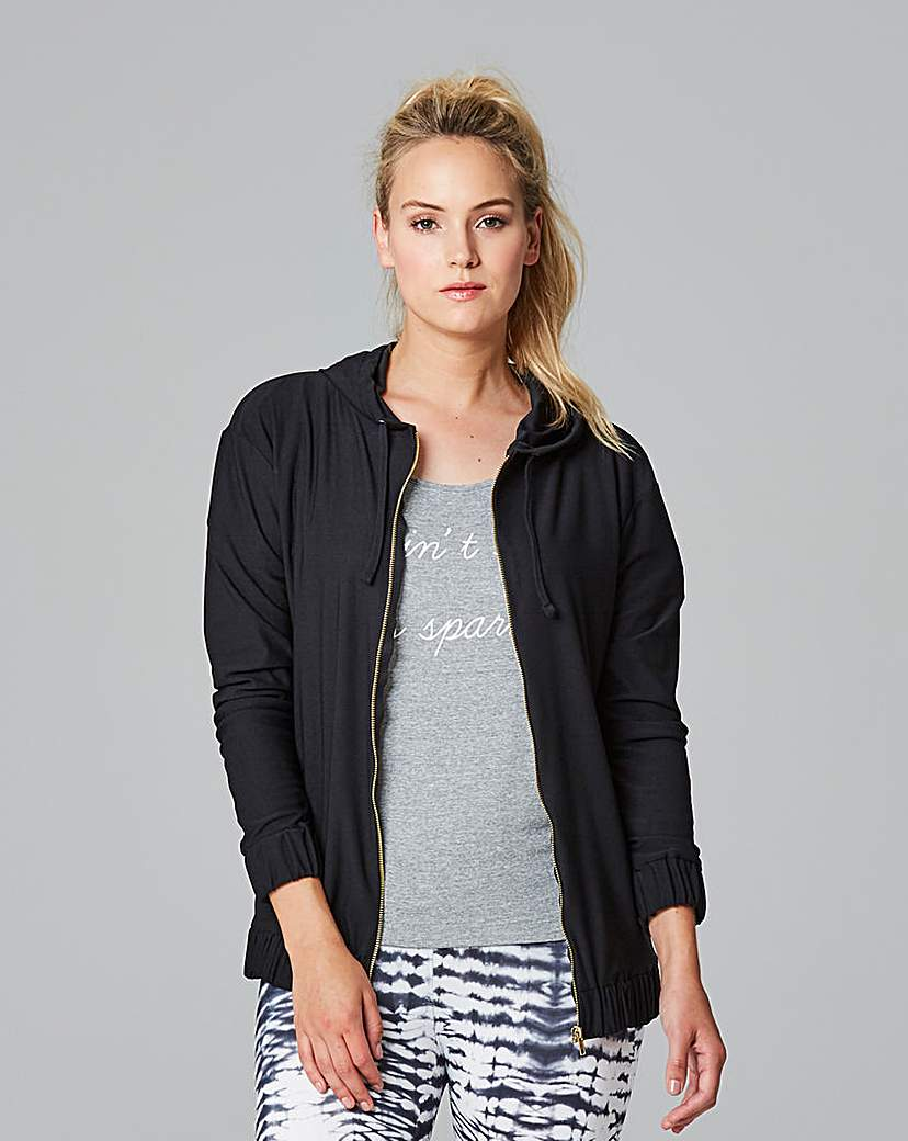 Simply Be Hooded Bomber Jacket