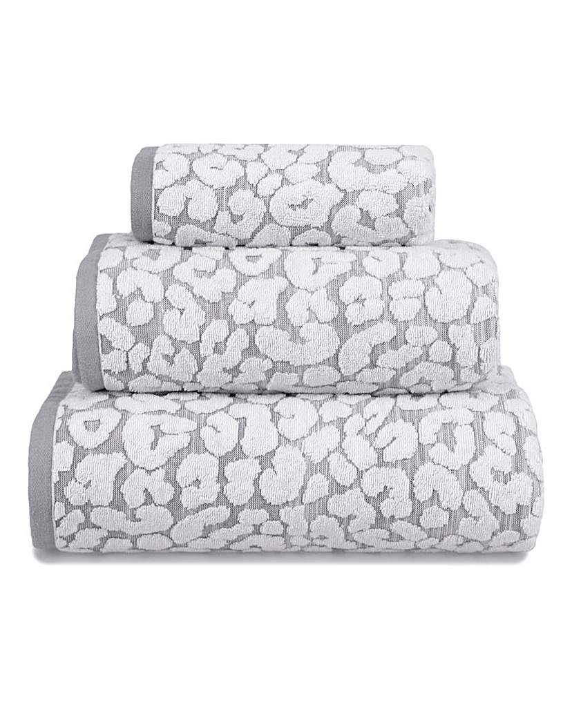 Simply Be Leopard Printed Towel Range