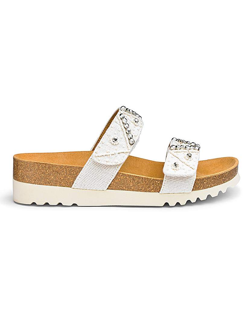 Scholl Scholl Zafirah Slider Sandals E Fit