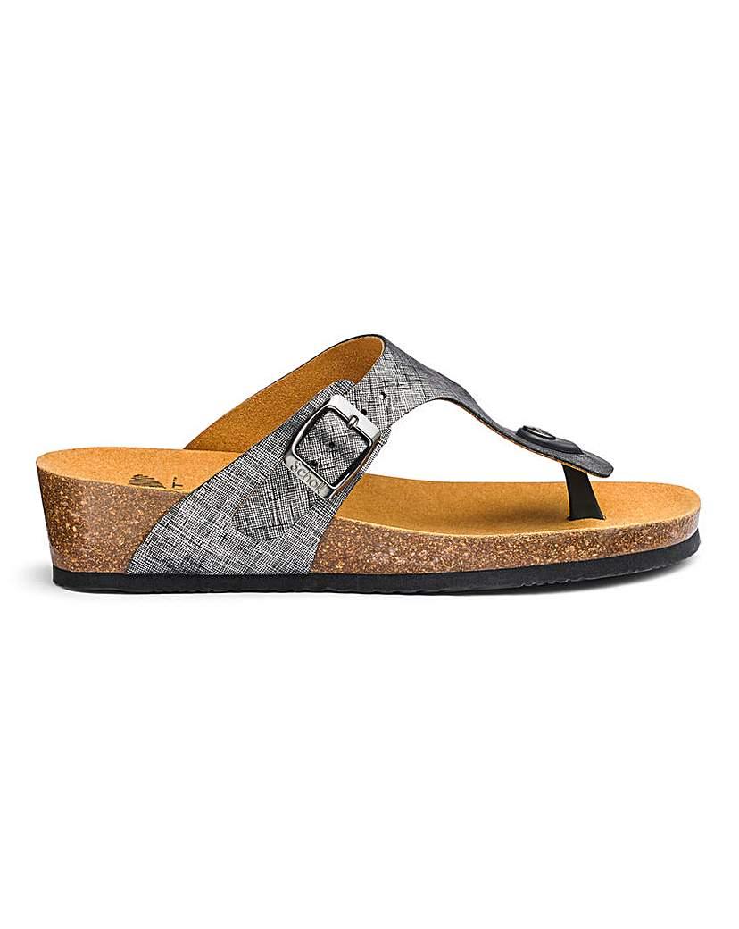 Scholl Scholl Gandia Toe Post Sandals