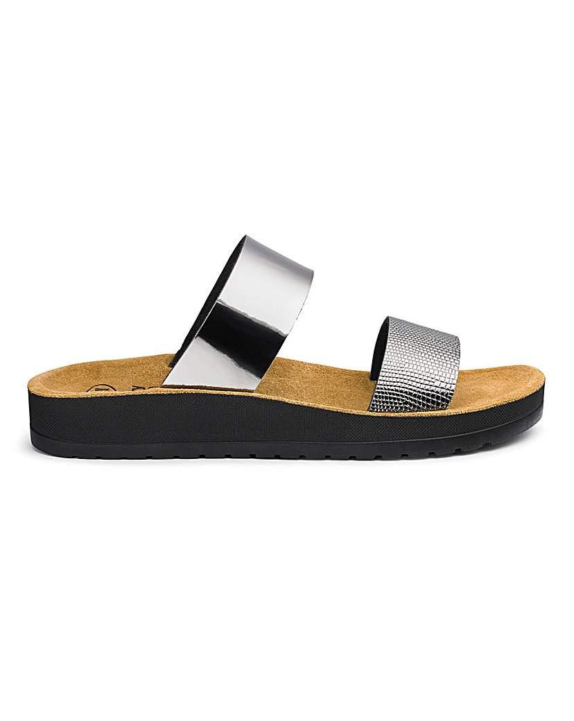 Scholl Scholl Cinthia Slider Sandals E Fit