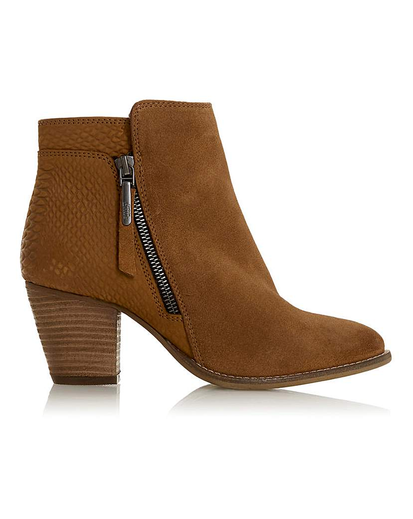 Dune Dune Ankle Boots Wide Fit