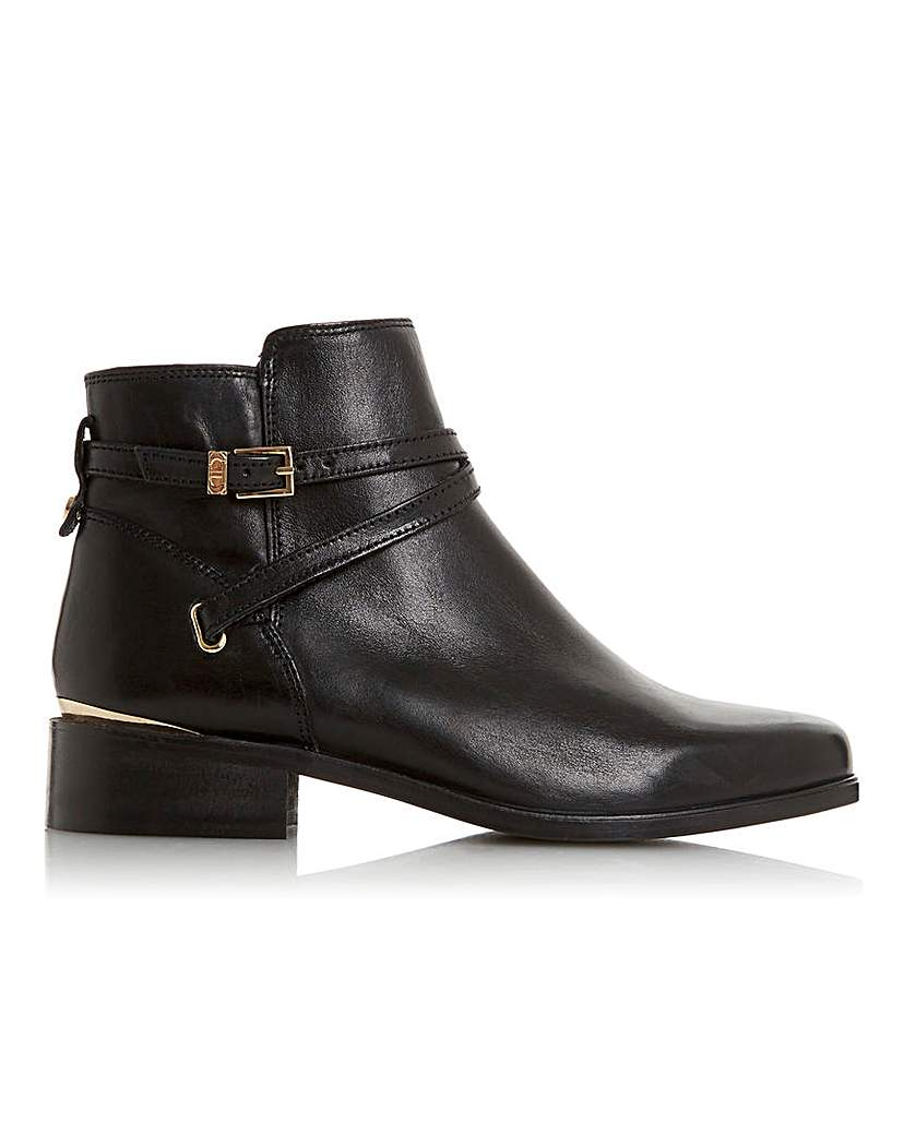 Dune Dune Wide Fit Peper Ankle Boots