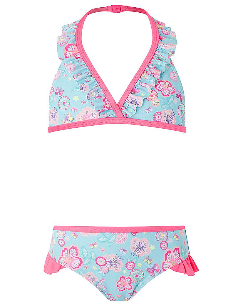 Accessorize Bahama Floral Ruffle Bikini