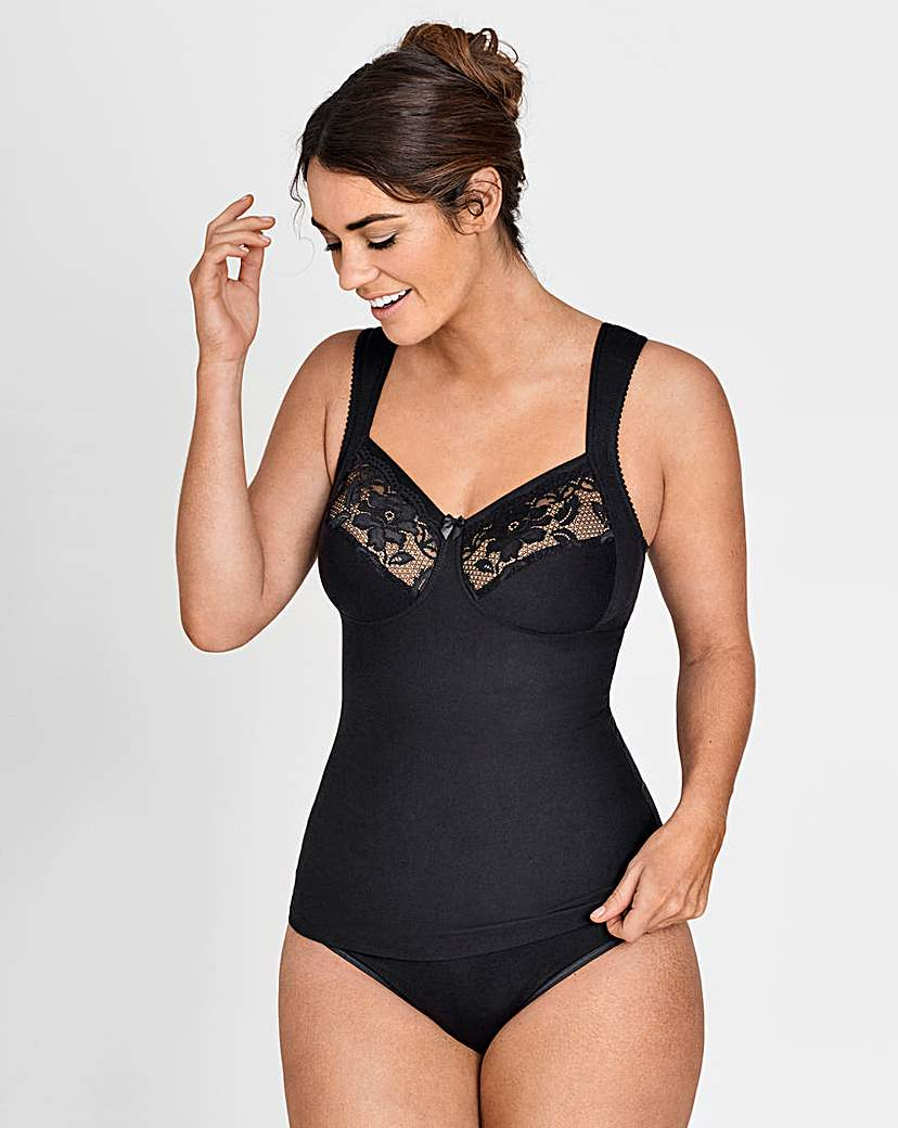 Miss Mary Black Shaping Camisole