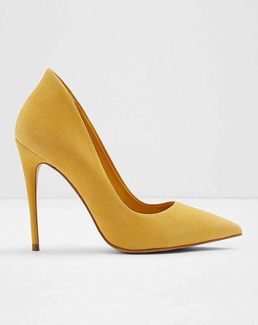 ALDO Aldo Cassedy Leather Court Shoe Wide Fit