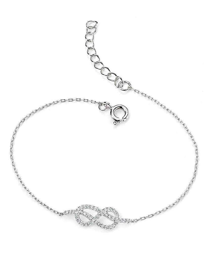 Simply Be Sterling Silver Chain Bracelet