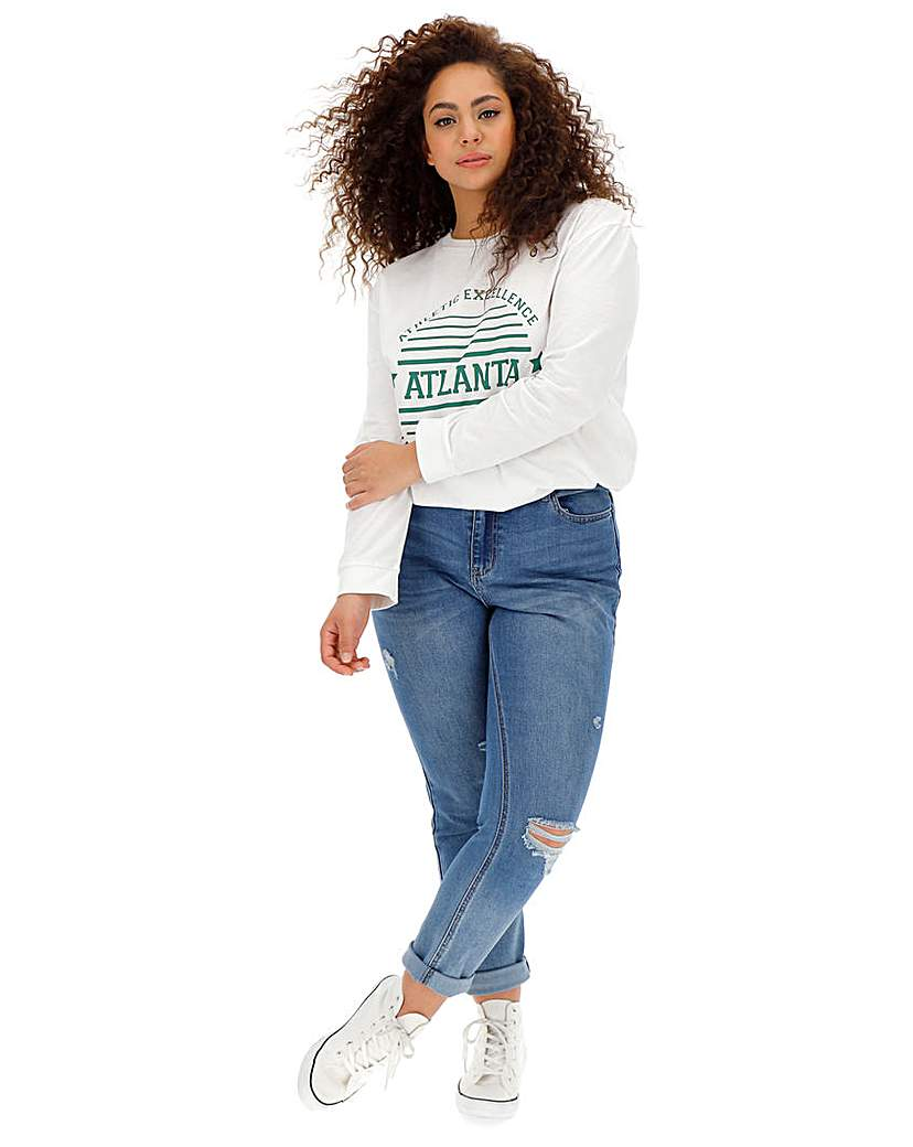 Daisy Street Atlanta Long Sleeve T-Shirt