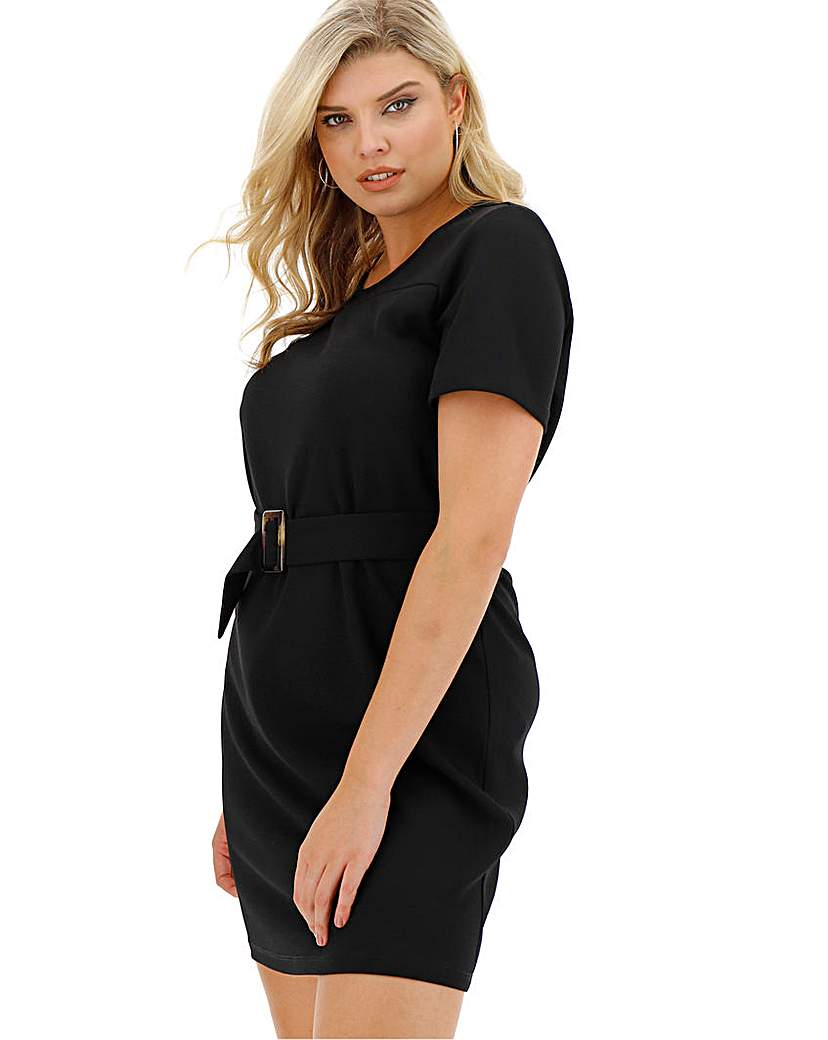 Vero Moda Belted Office Dress