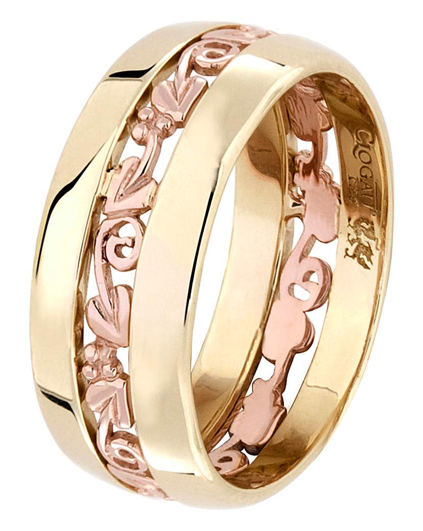 Clogau Clogau 9 Carat Gold 'Tree of Life' Ring
