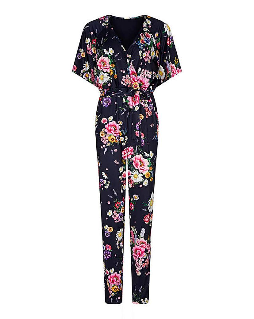 Yumi Curves Yumi Curves Daisy Bouquet Jumpsuit
