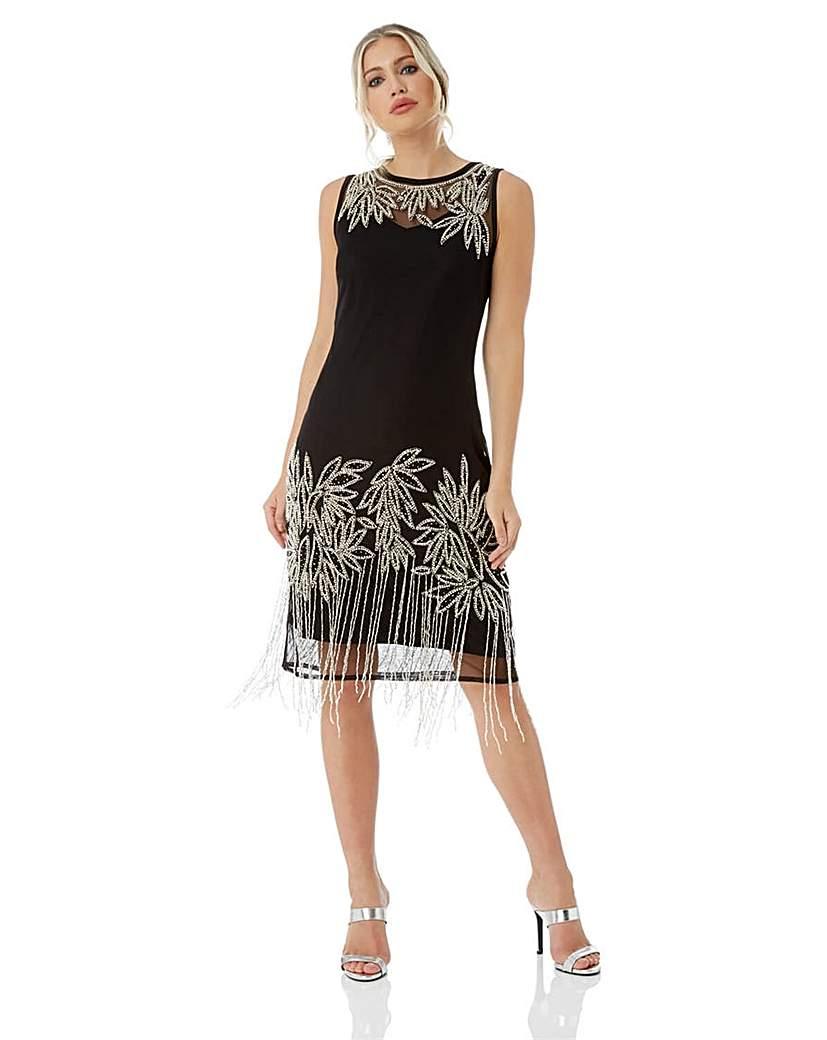 Roman Embellished Flapper Dress