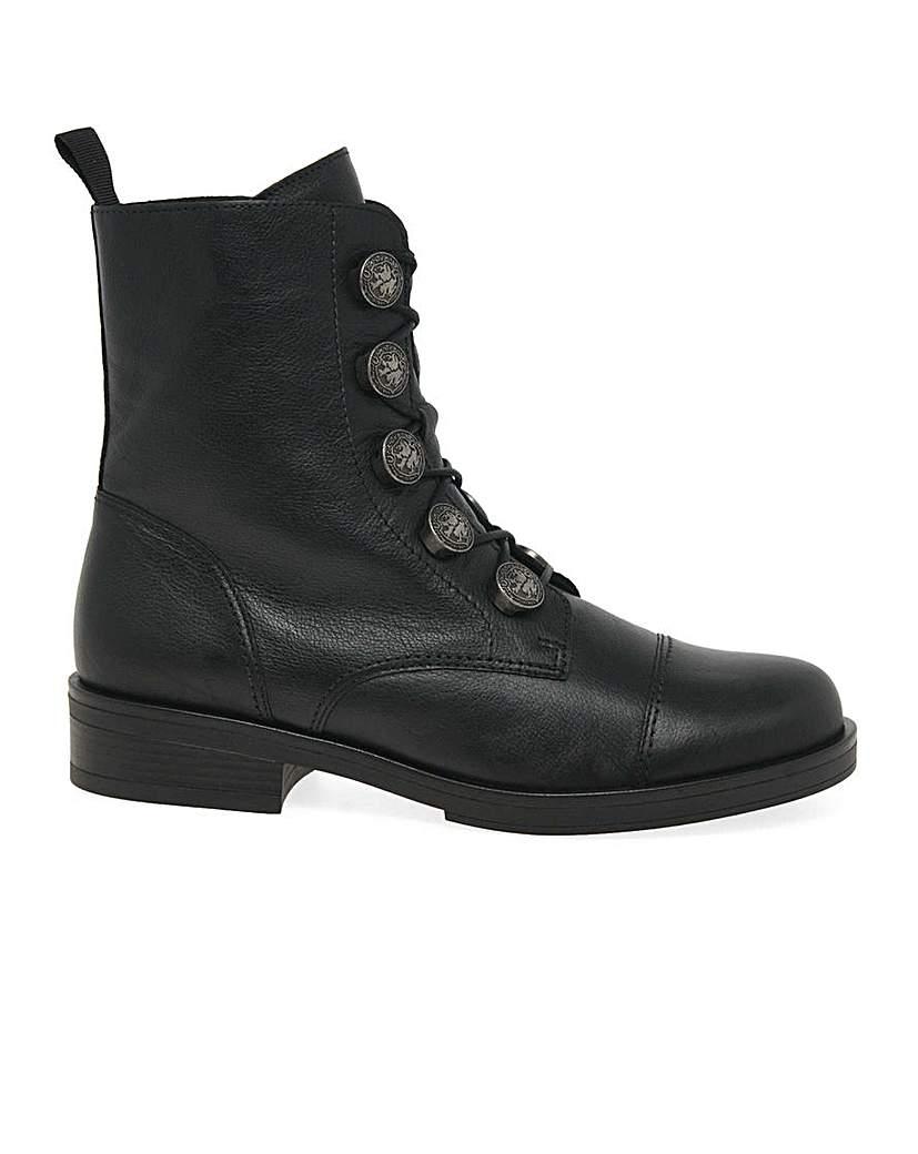 Steampunk Boots & Shoes, Heels & Flats Gabor Lady Standard Fit Biker Boots £120.00 AT vintagedancer.com
