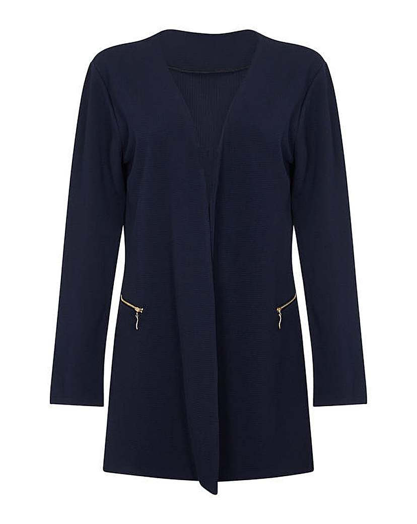 Image of Mela London Curve Two Zip Cover Up