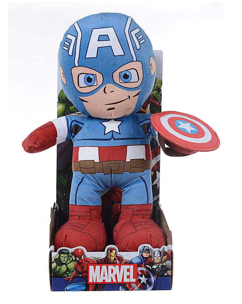 Image of Marvel 10in Plush - Captain America