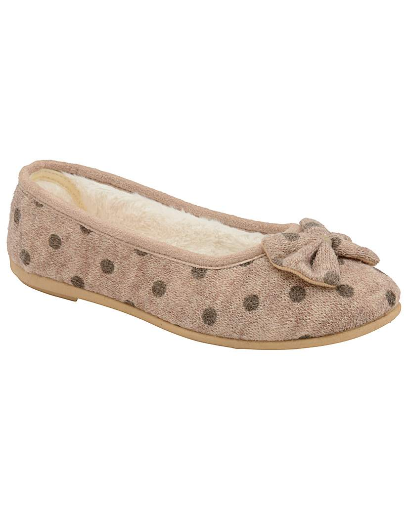 Dunlop Angeline women's slip-on slippers