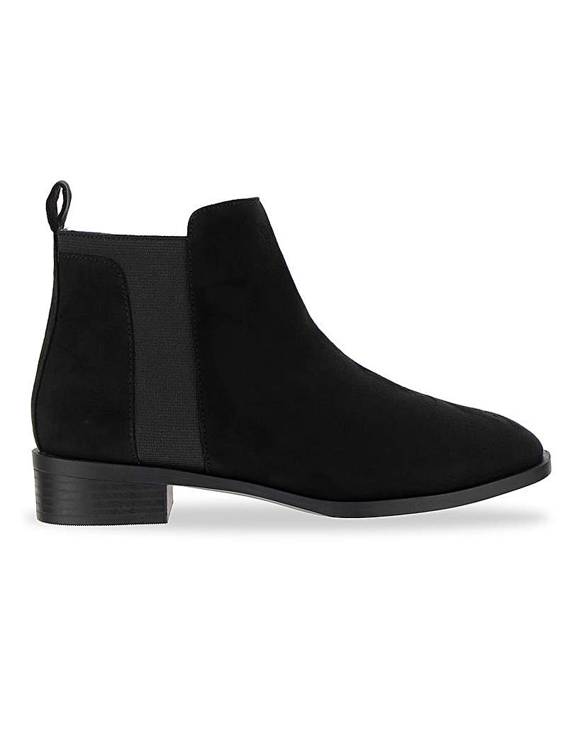 Simply Be Imogen Chelsea Boot Extra Wide Fit
